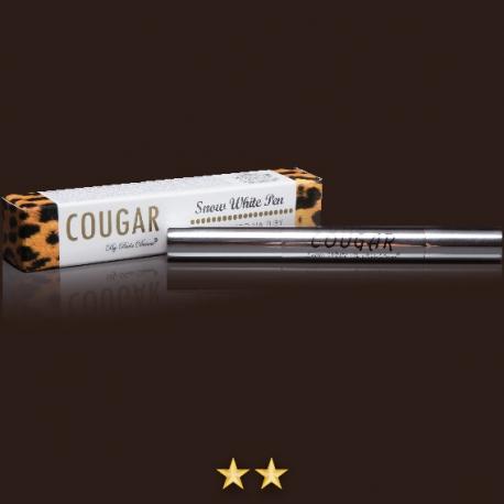 Bieliace pero na zuby Cougar Snow White