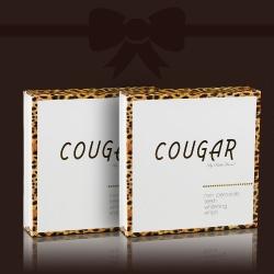 2 balenia za cenu 1: Bieliace pásiky na zuby Cougar DeLuxe