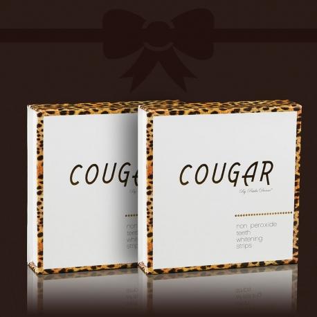 Bieliace pásiky na zuby Cougar zľava