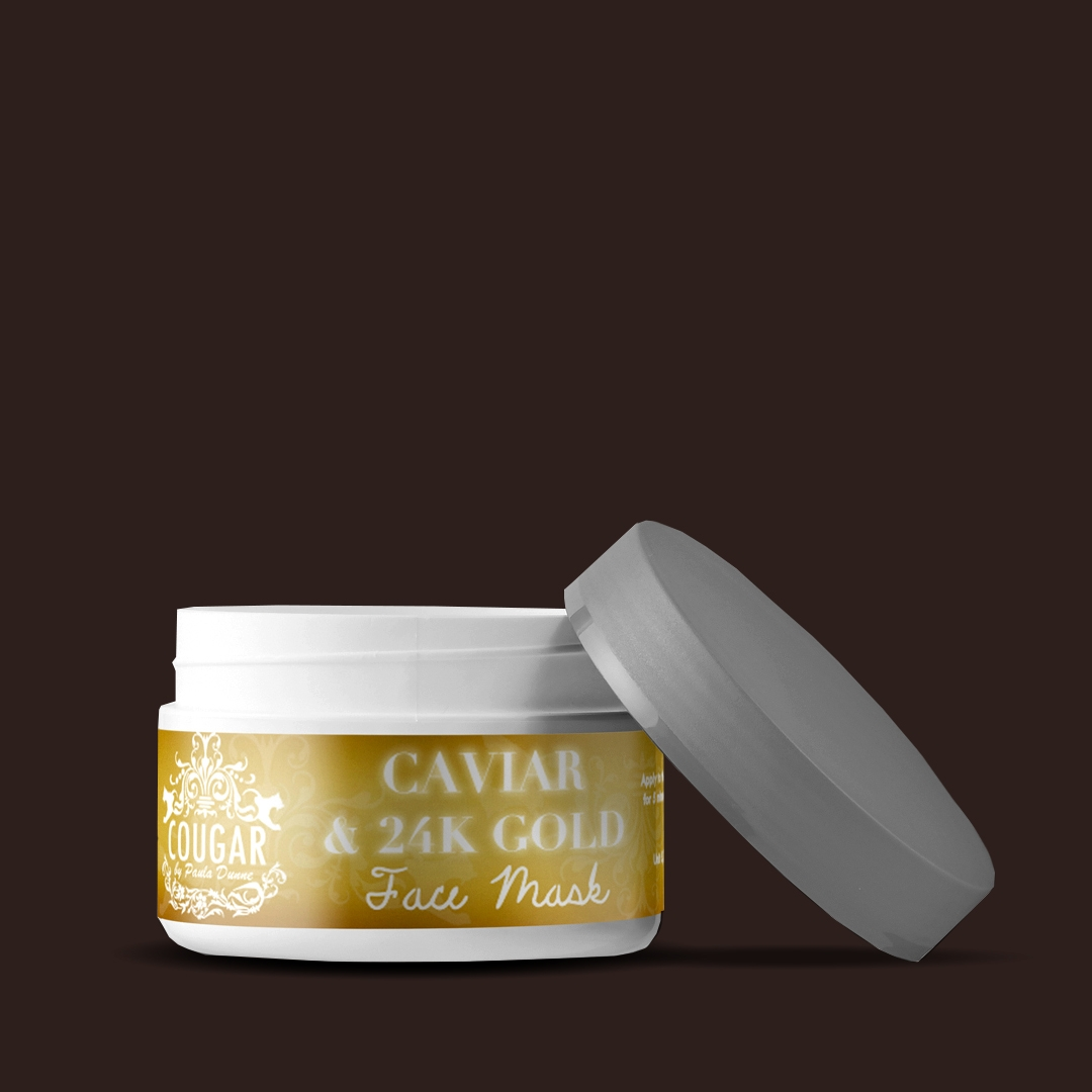 Pleťová maska s extraktom z kaviáru a 24K zlata