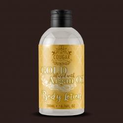 Telové mlieko s extraktom zo zlata a arganového oleja