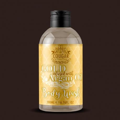 Sprchovací gél s extraktom zo zlata a arganového oleja