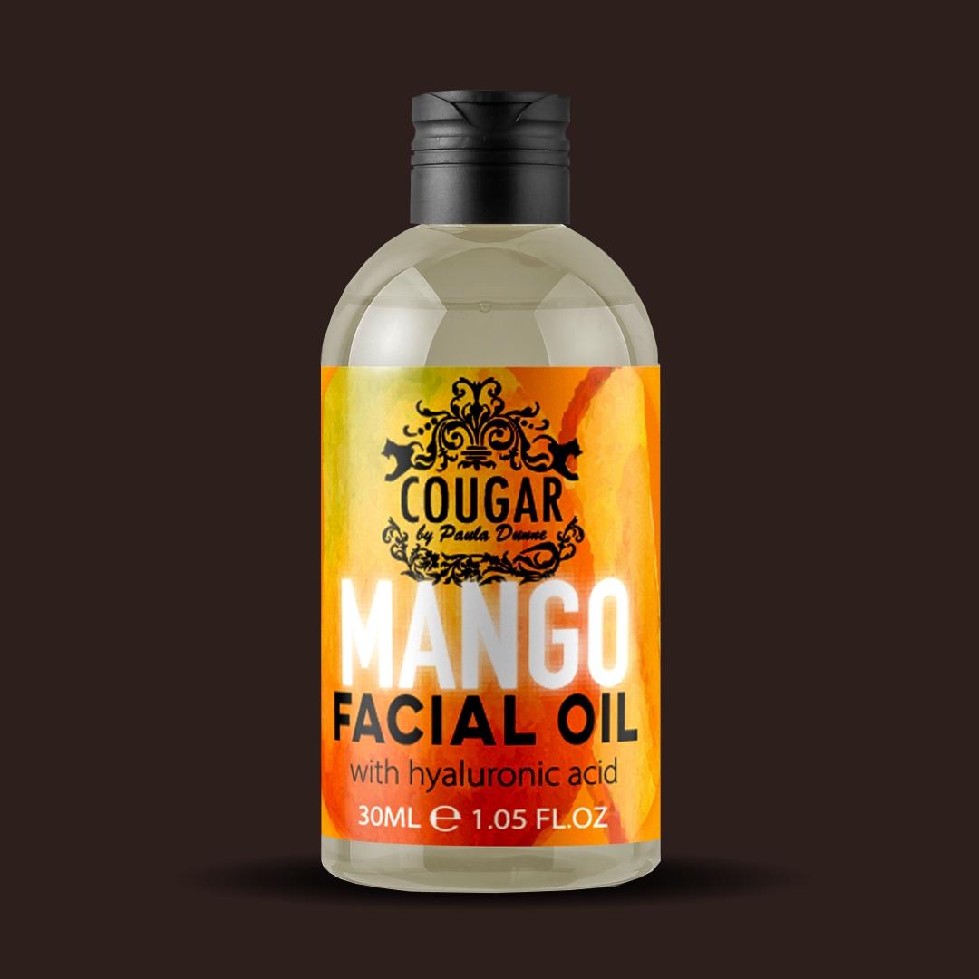 Pleťový olej s extraktom z manga a kyseliny hyalurónovej