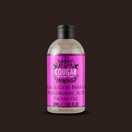 Olej s extraktom z acai a goji bobúľ a kyseliny hyalurónovej