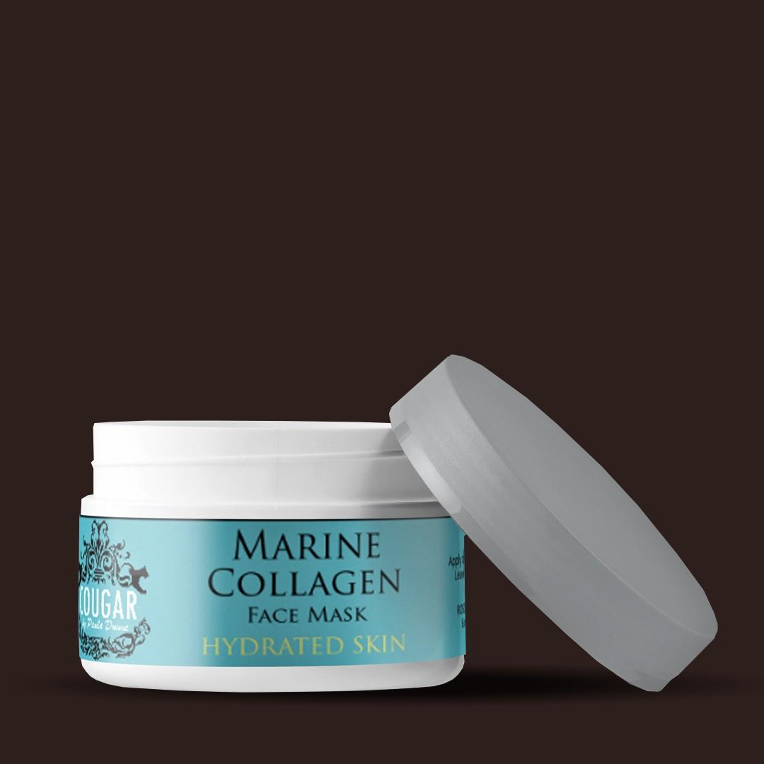 Pleťová maska s morským kolagénom