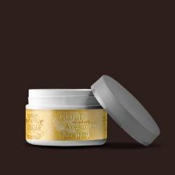 Maska na tvár s extraktom zo zlata a arganového oleja