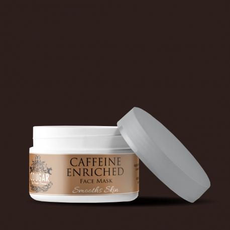 Maska s kofeínom a kyselinou hyalurónovou