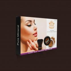 Minerálny makeup 5 v 1 + kabuki štetec