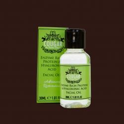 Olej na tvár s kyselinou hyalurónovou a enzýmom proteínu