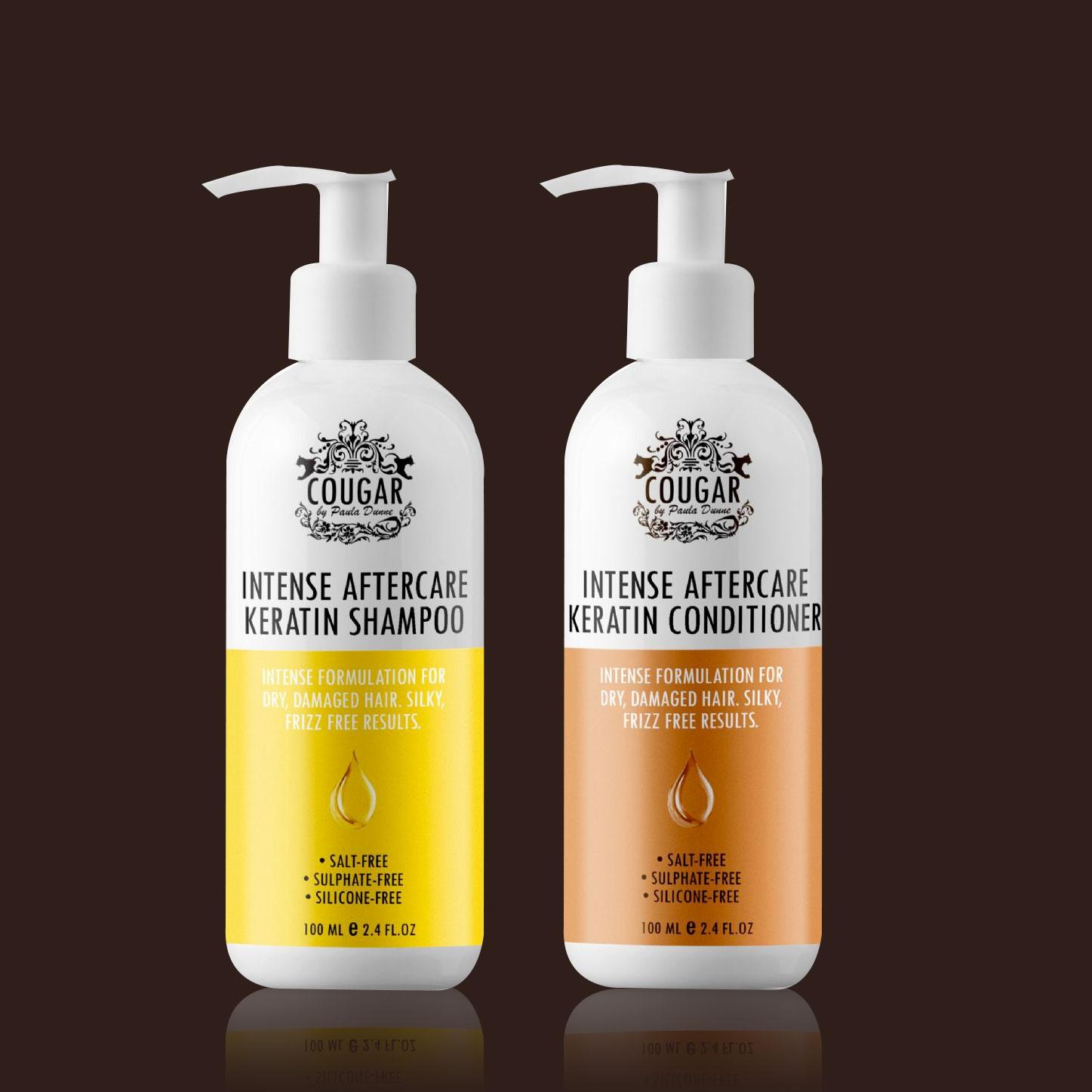 Vlasová keratínová kúra (šampón a kondicionér)