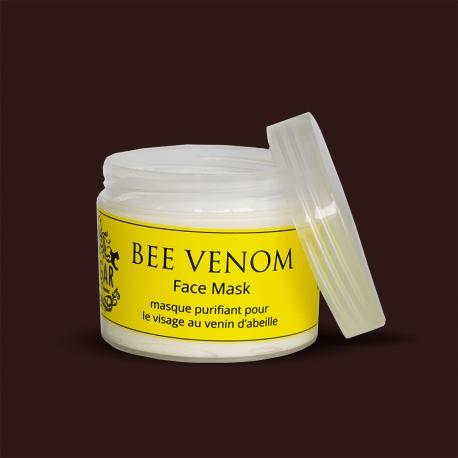 Pleťová maska s včelím jedom