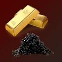Kaviár a 24K zlato