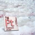 Platina a snežné riasy