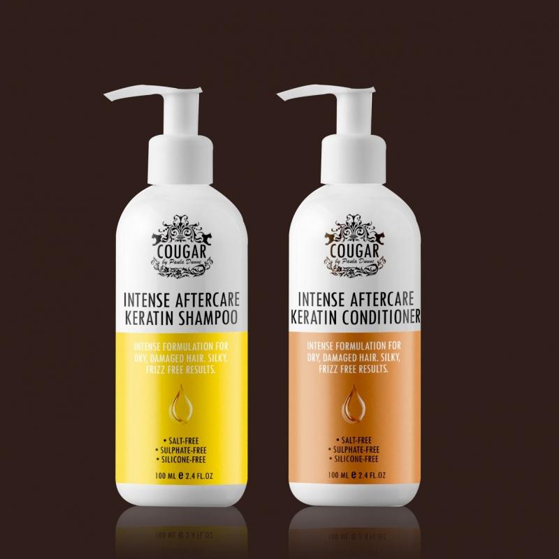 Vlasová keratínová kúra šampón a kondicionér
